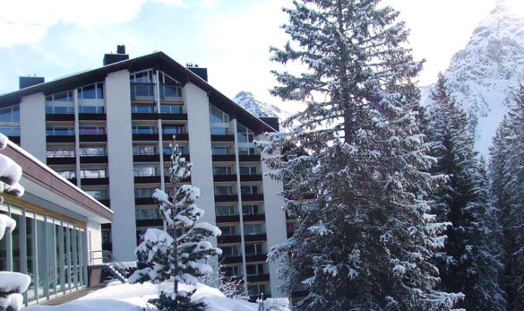 Rothornblick apartments, Arosa